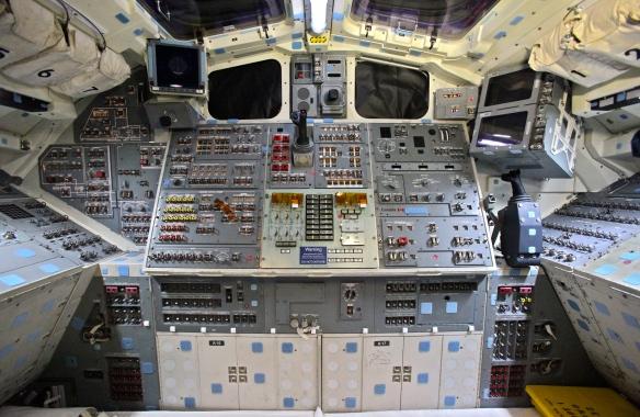 Space Shuttle Endeavour's Flight Deck