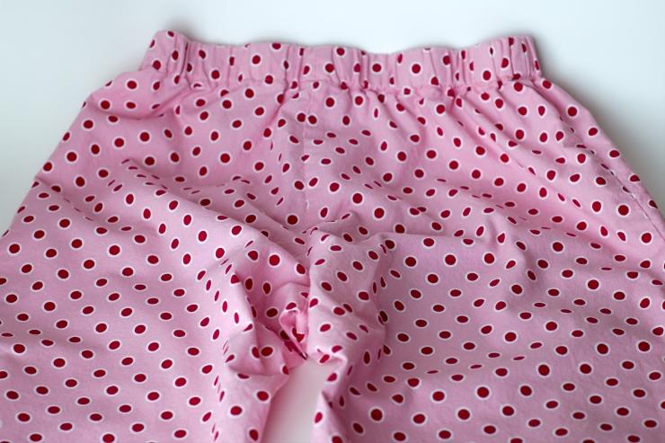 Pink pajama pants