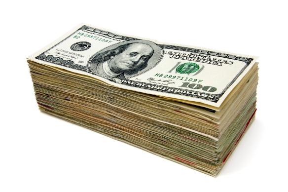 A Stack of Benjamins