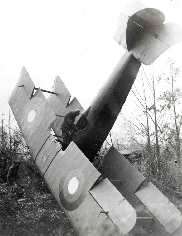 Airmail pilot Robert Shank after crash