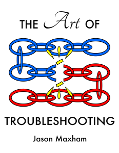 Art Of Troubleshooting - Book Cover - 3 Rows