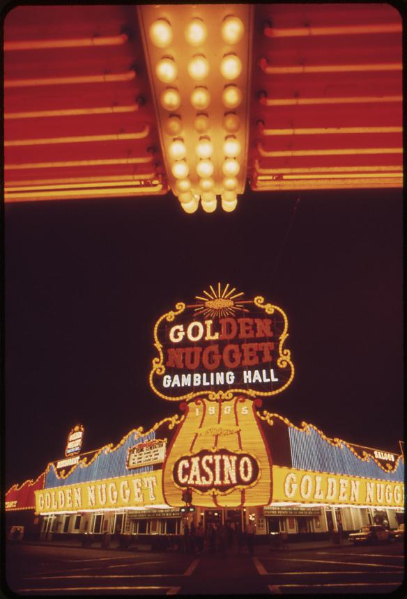 Golden Nugget Gambling Hall - May, 1972 (412-DA-6539)