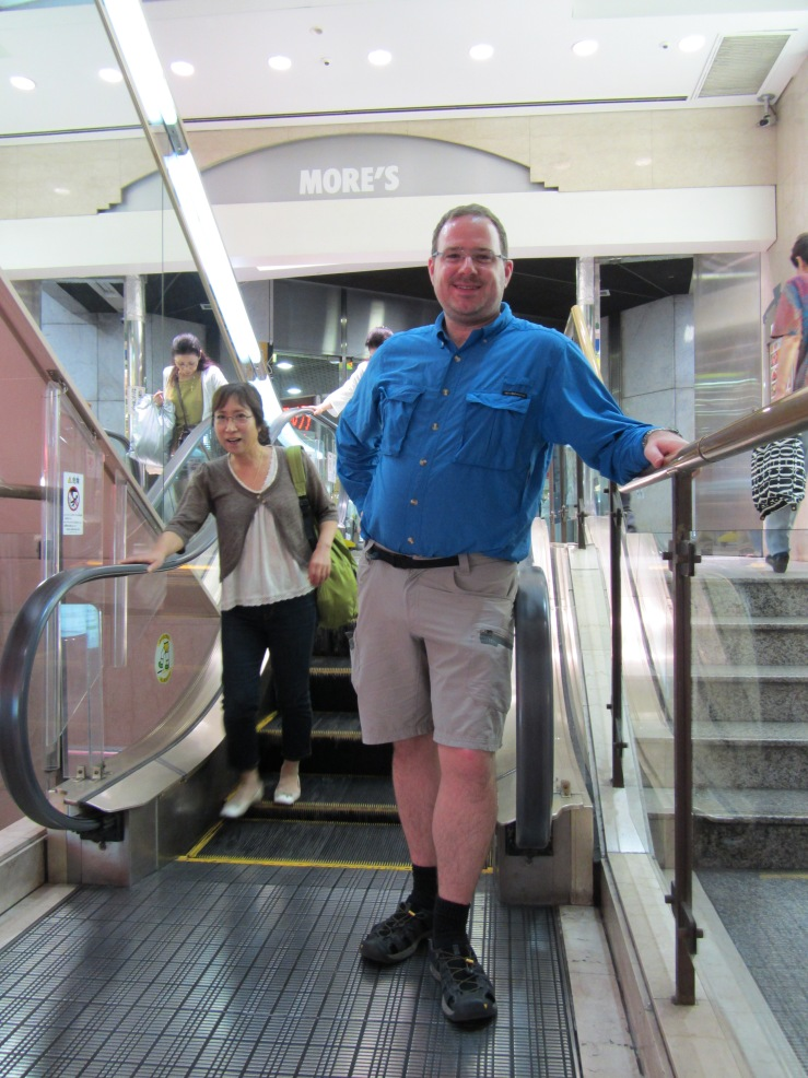 World's Shortest Escalator - More's Department Store - Kawasaki Japan