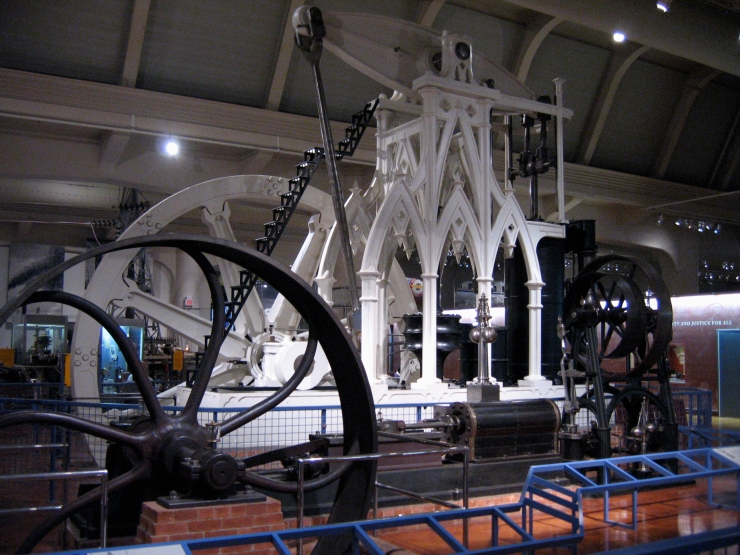 The Henry Ford Museum - Gothic Steam Engine