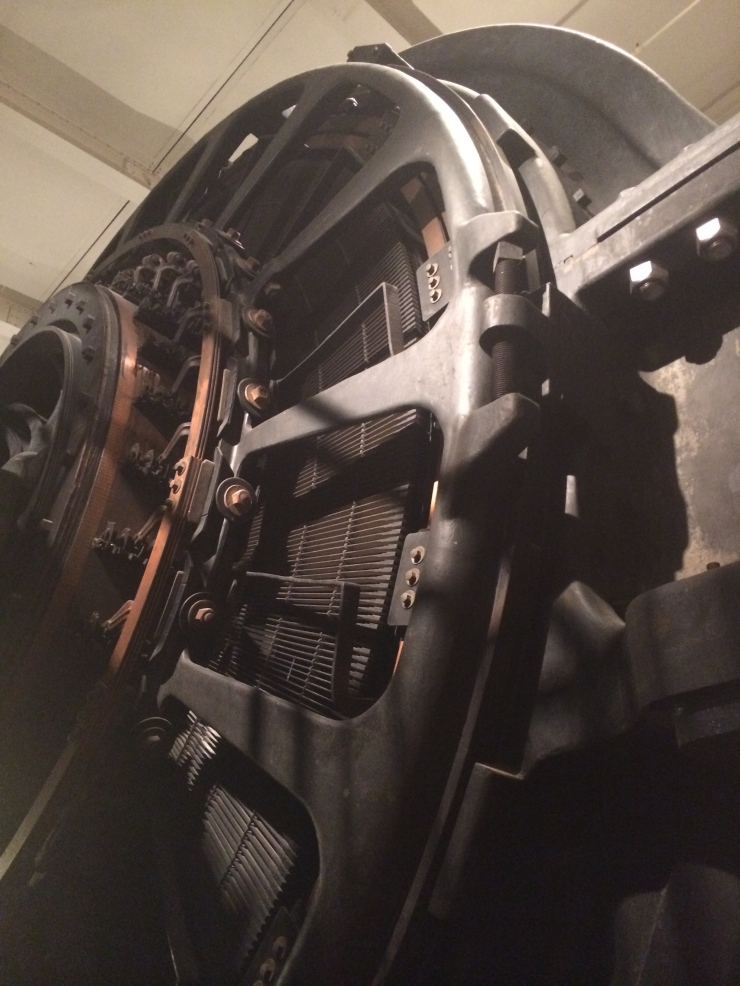 The Henry Ford Museum - Highland Park Engine - electrical generator