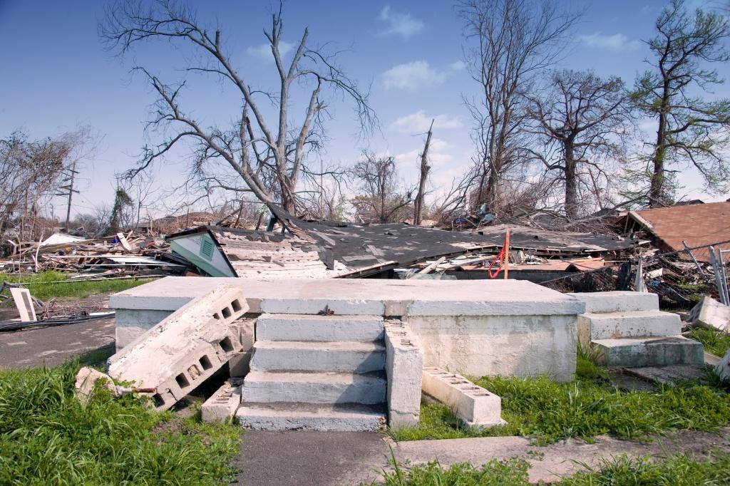Only steps left on the Mississippi Coast after 2005 Hurricane Katrina