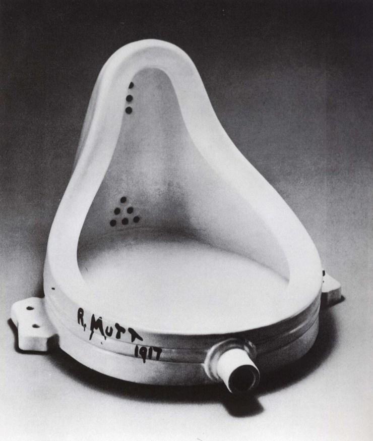 Marcel Duchamp, Fountain, 1917