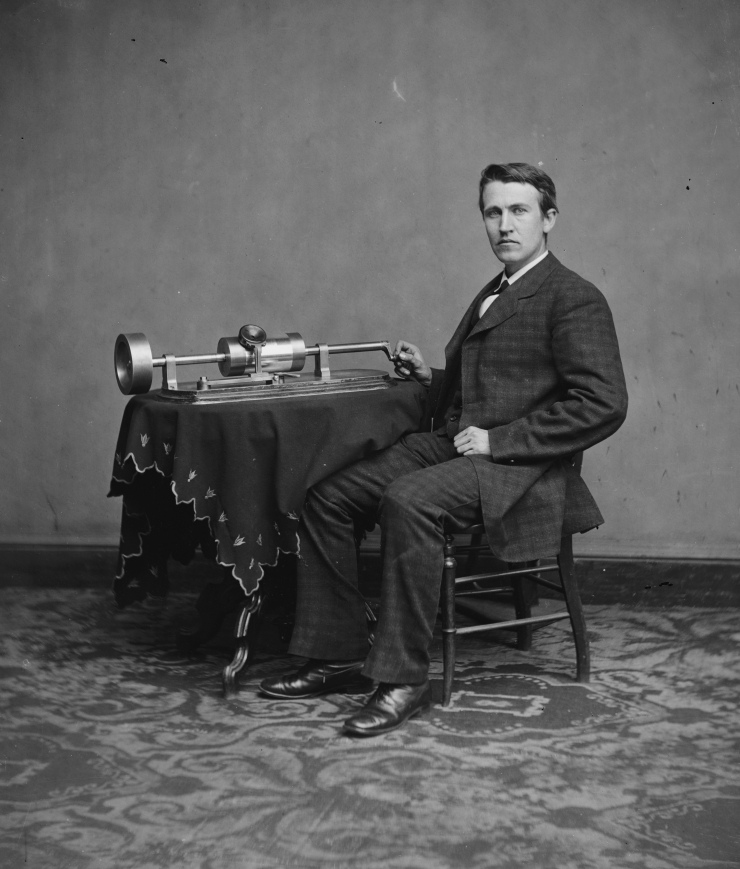 Thomas Edison (Library of Congress, LC-DIG-cwpbh-04043)