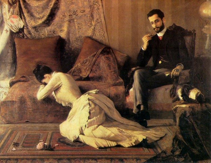Arrufos (1887) - Belmiro de Almeida (1858–1935) - Museu Nacional de Belas Artes - Rio de Janeiro, Brazil